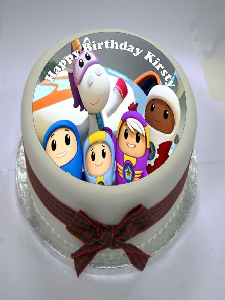 Go Jetters High Edible Cake Topper